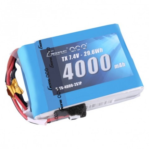 Gens Ace 2S 4000mAh JST-EHR for Spektrum Radios