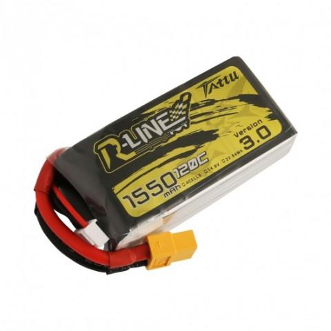 Tattu 4s 1550mAh 120C R-Line V3 XT60