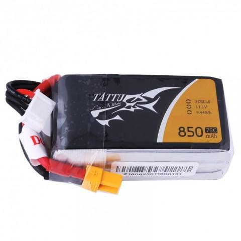 Tattu 3S 850mah 75C XT60
