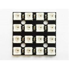 Addressable LED panel 4x4