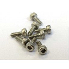Stainless Steel M2x5 Screws (socket cap)
