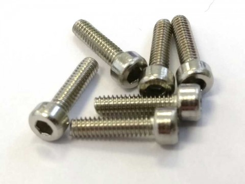 Stainless Steel M2x8 Screws (socket cap)