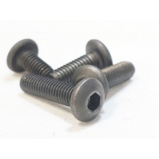 Titanium M3x6 button cap screw