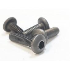 Titanium M3x14 button cap screw
