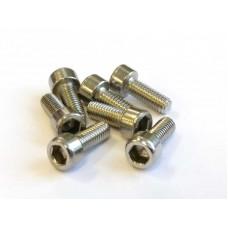 Stainless Steel M3x9 Screws (socket cap)