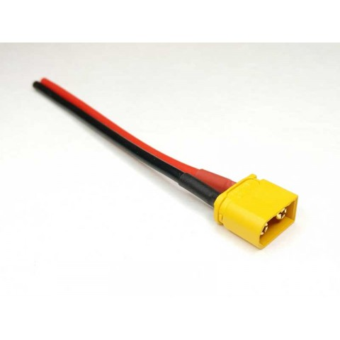 Amass XT60U Pigtail battery lead