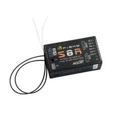 FrSKY S8R 8/16 channel Receiver with 3-axis Stabilization