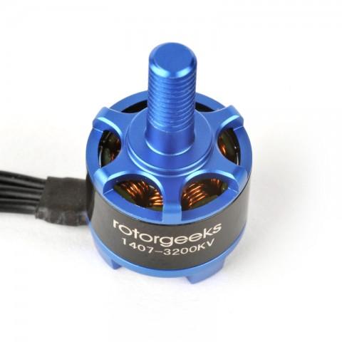 Rotorgeeks Motor Parts 1407 2800kv, 3200kv, 3600kv, 4000kv
