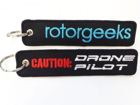 Rotorgeeks Flightstrap Keychain